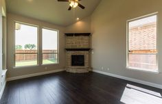 Open Concept Family Room of New Home for Sale: 1816 Fountain Vista View, St. Paul, TX 75098 in Inspiration. 2 Stories - 3,430 Square Feet - 5 Bedrooms - 4 Bathrooms - 2 Car Garage