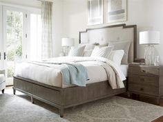 Universal Furniture | Playlist | Harmony Bed with Storage (Queen)