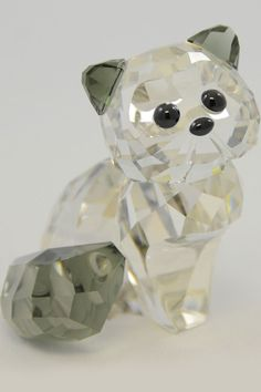 Swarovski Alexander The Cat.. My Grandma has tons of these awesome crystals