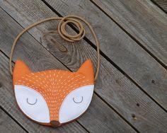 Giftworks Porte-monnaie zipp/é en simili cuir pour enfant Motif animal chat