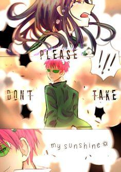 Saiki its so fucking stuck me! Fanarts Anime, Anime Characters, Manga Anime, Psi Nan, Light Pink Hair, Gang Up, K Wallpaper, Pokemon, Tsundere