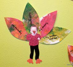Tippytoe Crafts: Thankful Turkeys (Class Display)