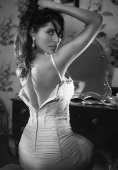 would love the dress unzipped a bit more :)