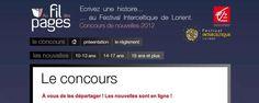 La Caisse d'Epargne Bretagne Pays de la Loire et le Festival Interceltique de Lorient renouvellent leur partenariat, pour organiser la deuxième édition de leur concours Au Fil des Pages, concours de nouvelles ouvert à tous.