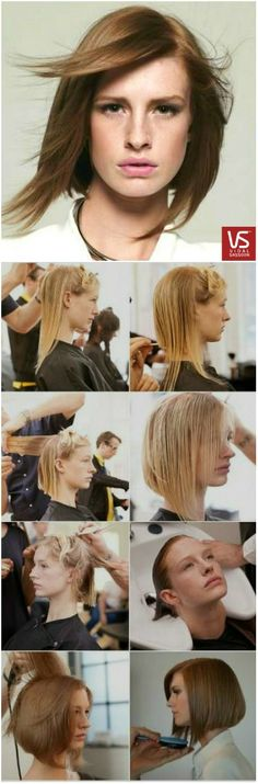 The precision and details in a bob haircut are sure to lead to an overall attitude change. Can you say bold?