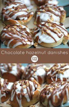 ... boast a hazelnut filling and double sweet glaze. Need we say more