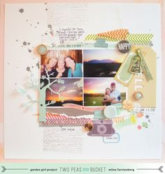 *Be inspired challenge* HappyHello by @Wilna Furstenberg - Two Peas in a Bucket