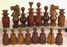 Chess set - What sculpture!