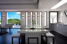 Interior View Of The Eternity Private House, Flamands Hillsides In St Barth  _