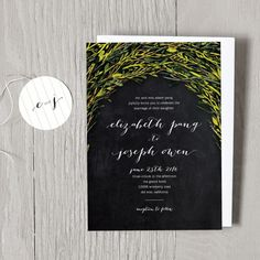 Whimsy Wedding Invitations | Smitten on Paper