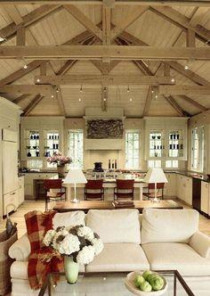 Like the cabinets over the windows idea