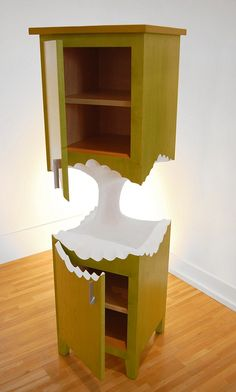 Apple core cabinet by Judson Beaumont is available atstraightlinedesigns.com...