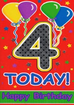 Gift For Baby Boy Birthday - Foto Gift and Basement Fsaquatics. 4th Birthday Boys, Birthday Wishes For Kids, Birthday Gifts For Boys, Art Birthday, Happy Birthday Images, Birthday Greeting Cards, Birthday Greetings, Foto Gift, Happy B Day