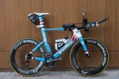 Get a look at nine of the bikes (including both winning rides) that lined up for Saturday's Abu Dhabi International Triathlon.