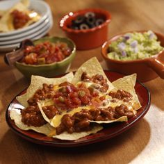 about Nachos Recipes on Pinterest   Nachos, Buffalo chicken nachos ...