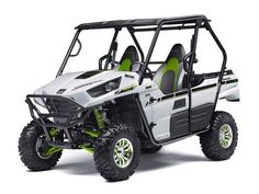 New 2015 Kawasaki Teryx® LE ATVs For Sale in Florida. We offer motorcycles, scooters, trikes, ATVs, Side by Side UTVs, Jet-Skis, PWC and boats! We also have a full service department, parts department and custom shop for all your powersports needs! Call Chad at 954-449-8231 for more information and Special Internet Pricing!!! Dimensions: - Wheelbase: 85.8 in.