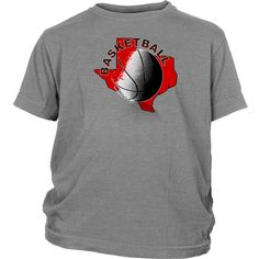 Texas Tech Basketball Youth T-Shirt