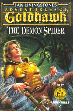 The Demon Spider: Adventures Of Goldhawk