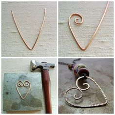 Great Gift......Art Bead Scene Blog: Tutorial Tuesday - Wire Heart Pendant
