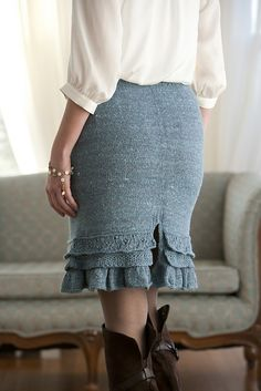 Ravelry: Barton Springs Skirt pattern by Cecily Glowik MacDonald