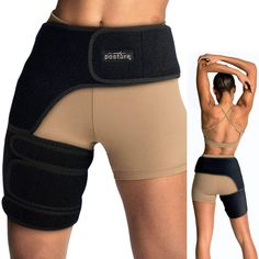 Back Brace lumber support & Posture corrector, Shoulder Brace & Hip Braces by Dr. Jason Hammond Hamstring Pull, Hip Brace, Bursitis Hip, Shoulder Brace, Sciatica Pain Relief, Thigh Muscles, Compression Sleeves, Mens Sleeve, Braces