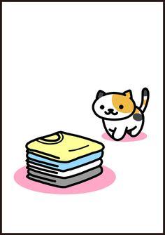 Neko Atsume Wallpaper, Simons Cat, Cute App, Cat Cafe, Cat Boarding, Kawaii Cute, Cat Memes, Cute Drawings, Cats And Kittens