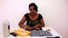 Como fazer uma Bolsa com Caixa de Leite - Muito Fácil! Rafaela Ferreira