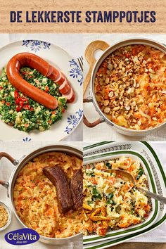 Dutch Recipes, Chana Masala, Soups And Stews, Curry, Food And Drink, Yummy Food, Lunch, Healthy Recipes, Dinner