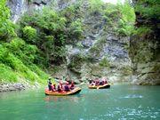 Noce River Rafting, Trentino, Italy