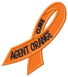 Cure Agent Orange embroidery design