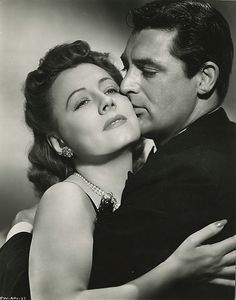 Irene Dunne and Cary Grant....doesn't get much better than these two