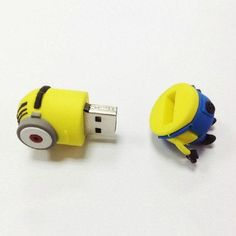 Free shipping Cute minion model USB 2.0 Enough