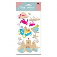 This week's Friday Featured Item is Jolee's scrapbooking sticker Sand Theme item SPJBLG262.    $1.50