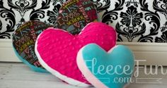 Heart Pillow (with video)