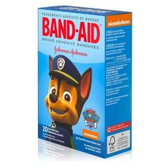 Band-Aid Paw Patrol Bandages - 20ct : Target Princess Palace Pets, Paw Patrol Characters, First Aid Supplies, Candy Theme, Bandage, Wound Care, First Aid Kit, Adhesive, Kids