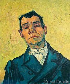 Vincent van Gogh - Bildnis eines Mannes