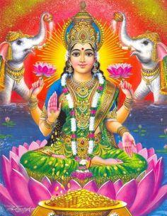 MITOLOGIA Lakshmi (se pronuncia lock'shmee) era alabada incluso antes de la invasión aria de la India. Se la considera la fuerza dadora de...