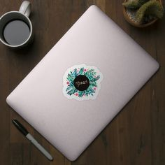 Check out this awesome 'Thank+you+florals+-+green+and+pink' design on