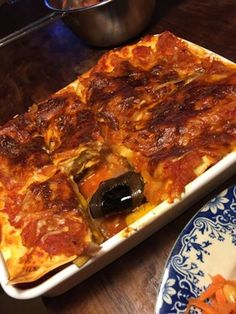 簡単!ベジタリアンラザニア Lasagna, Vegan, Ethnic Recipes, Food, Essen, Meals, Vegans, Yemek, Lasagne