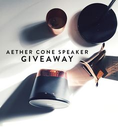 meet the aether cone + a giveaway / sfgirlbybay