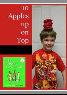 This teaching idea is a great way to use book to teach basic preschool context and connect to their experiences. This preschool and kindergarten teaching idea uses Dr. Suess's book 10 Apples Up on Top! #teachmama #drsuess #teachingtips #preschool #math #mathactivity #preschoolteaching #read #learning #drsuessactivity