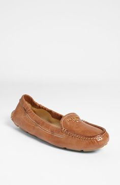 Prada Scrunch Loafer available at #Nordstrom