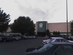 Eastland Mall, Burlington Coat Factory, Charlotte North Carolina, Ice Rink, Skating Rink, Aerial View, Building, Buildings, Construction