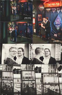 Seattle Engagement Session Prefunk Session Pikes Place Market seattle portrait photographer www.urbanutopiaphotography.com