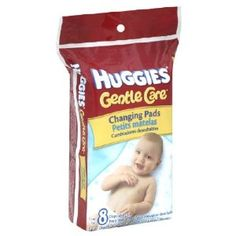 Huggies Disposable Changing Pads - 8 pads/ Pack, 5 Packs. We only have one cover for our changing pad, and we keep a disposable on top of that. They last for weeks and weeks but it is good protection in case of any on-table accidents. Also, in those early days when you still are struggling with HOW to change a diaper, it nice to scoop up the whole mess in one of these.