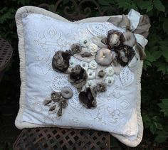 Decorative Pillow  23x 23 inch by LaVantteHome on Etsy, $145.00