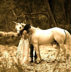 princesse et une licorne