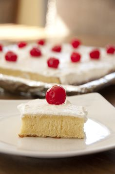 Tres Leches Cake | Wishes and Dishes