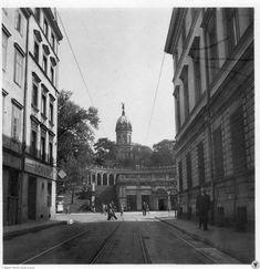 Zwingerstraße mit Liebichshöhe. [ul. Teatralna, Wzgórze Partyzantów]