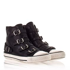 Ash Virgin Sneaker Black Nappa Leather 330053